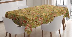 Bunte persische Art Tischdecke