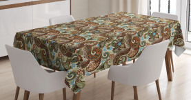 Blooms Ethnic Arabic Tablecloth