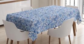 Einheimisches festliches natürliches Tischdecke