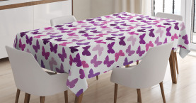 Butterfly Carved Wing Tablecloth