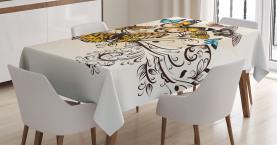 Monarch Vintage Damast Tischdecke