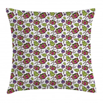 Christmas Tree Sweet Pillow Cover