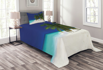 Untouched Coastline Bedspread Set