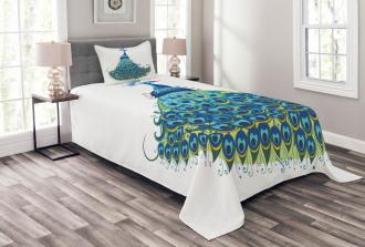 Classical Floral Artful Bedspread Set