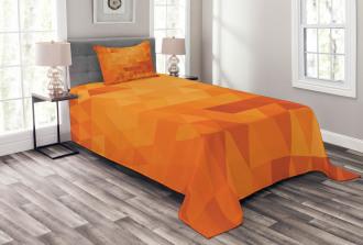 Shapes and Patterns Bedspread Set