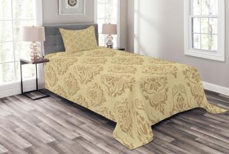 Antique Lace Floral Bedspread Set