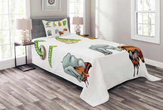 Cocoon Nature Cycle Bedspread Set