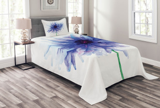 Earth Cornflower Bedspread Set