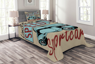 Retro Antique Sports Bedspread Set