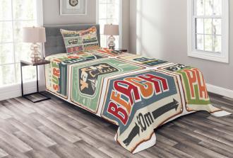 Summer Holiday Vintage Bedspread Set