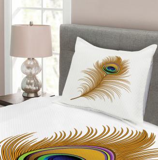 Exotic Peacock Wild Bird Bedspread Set