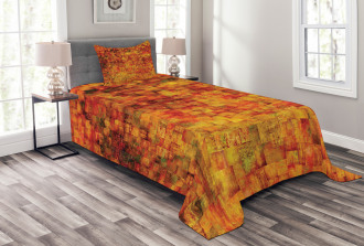 Vintage Mosaic Grunge Bedspread Set