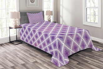 Retro Style Abstract Bedspread Set