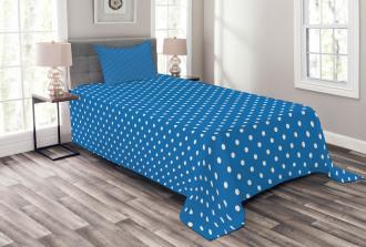 Polka Dots Navy Boys Bedspread Set