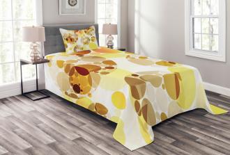 Graphic Polka Dots 50s Bedspread Set