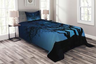Night Moon Cosmos Bedspread Set