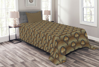 Brown Royal Vintage Bedspread Set