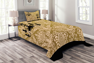 Victorian Style Room Bedspread Set
