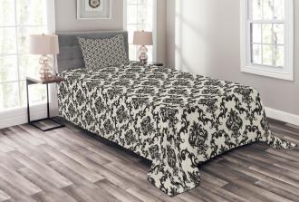 Classic Victorian Print Bedspread Set