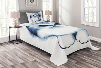 Cat Kitty Kids Design Bedspread Set