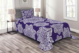 Flora Lace Snowflake Bedspread Set
