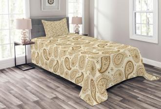 Paisley Oriental Persian Bedspread Set