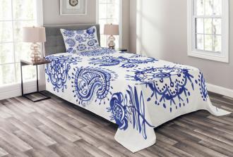 Watercolor Mandala Bedspread Set