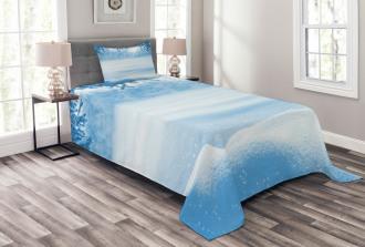 Snow Cold Winter Bedspread Set