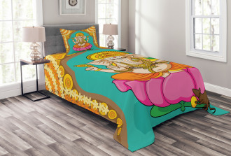 Elephant Lord Oriental Bedspread Set