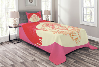 Elephant Temple Yoga Bedspread Set