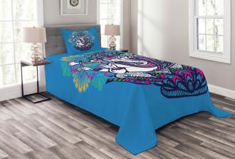 Elephant Mandala Pattern Bedspread Set