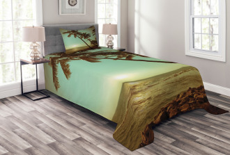 Sunset Pacific Dusk Bedspread Set