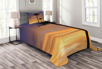 Exotic Coconut Dreamy Bedspread Set