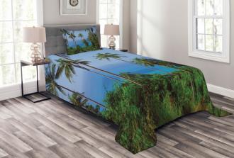 Ocean Jungle Beauty Bedspread Set