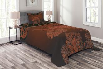 Vintage Mandala Bedspread Set