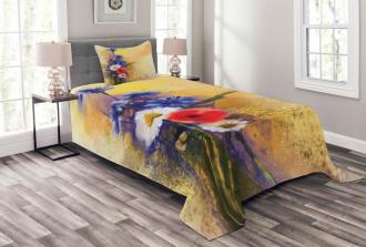 Poppy Chamomile Spring Bedspread Set