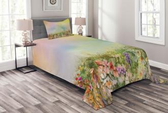 Spring Flower Nature Bedspread Set