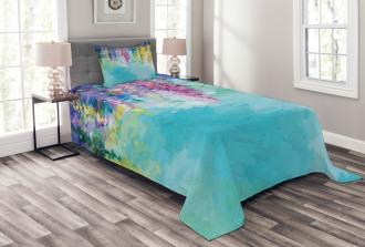 Inspiring Landscape Spring Bedspread Set
