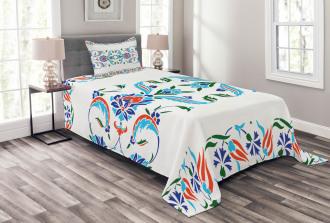 Ottoman Tulips Bedspread Set