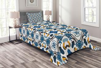 Portuguese Tilework Bedspread Set