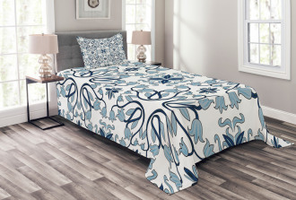 Persian Palace Buds Bedspread Set
