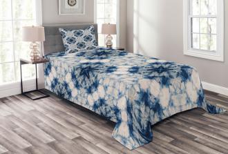 Tie Dye Bohemian Bedspread Set