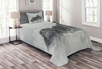 Foggy Mountain Peak Bedspread Set