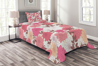Bloom Bouquet Romance Bedspread Set