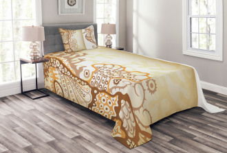 Seahorse Exotic Fishes Bedspread Set