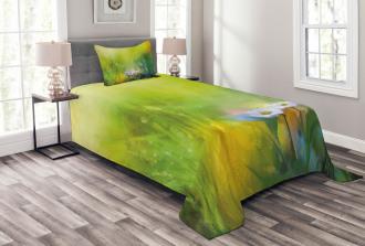 Pastoral Chamomile Artsy Bedspread Set