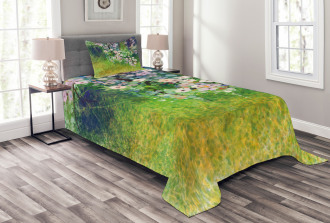 Grass Land Paint Bedspread Set