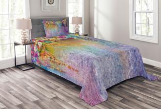 Blooming Flowers Artsy Bedspread Set