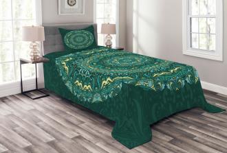 Eastern Mandala Bedspread Set