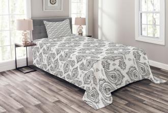 Inspired Flowers Bedspread Set